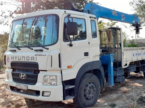 Манипулятор 12 тонн в аренду в Анапе